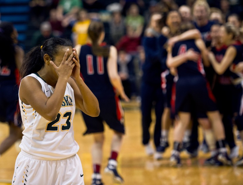 UAA women's basketball, Simon Fraser, West Regional Championship, Alaska Airlines Center