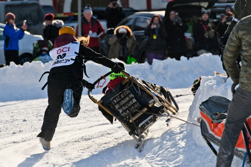 Iditarod 2019, Iditarod Trail Sled Dog Race, ceremonial start