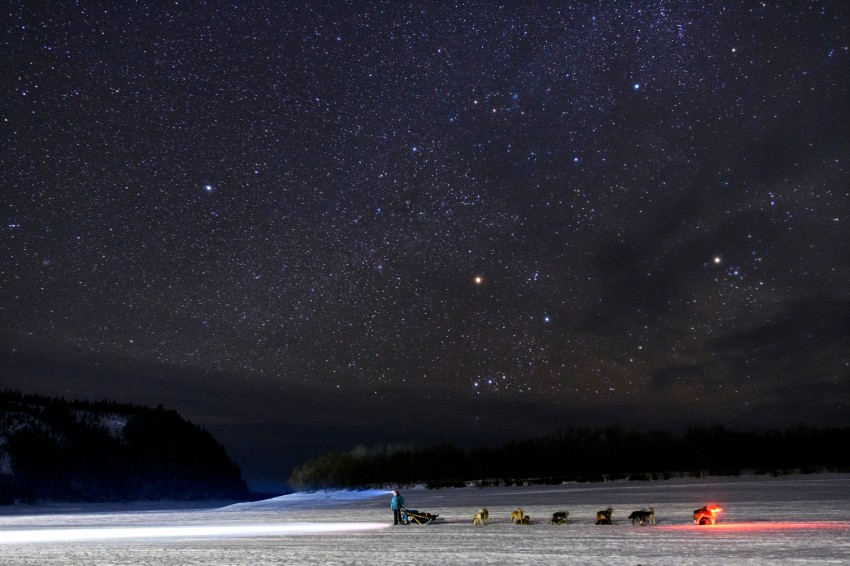 Iditarod 2019, Iditarod Trail Sled Dog Race, Shageluk