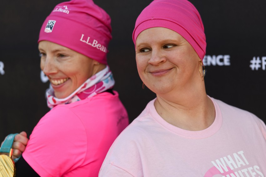 Olympic gold medalist faces cancer